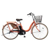 【自転車】【全国配送】《ブリヂストン》電動自転車 アシスタベーシック 24インチ オレンジ【別送品】