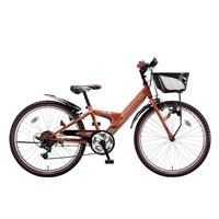 【自転車】【全国配送】エクスプレスjrEX46外装6段変速24インチオレンジ【別送品】