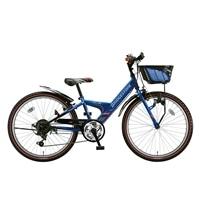 【自転車】《ブリヂストン》エクスプレスjr EX66 外装6段変速 26インチ ブルー&ブラック【別送品】