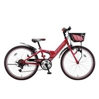 【自転車】《ブリヂストン》エクスプレスjr EX66 外装6段変速 26インチ レッド【別送品】