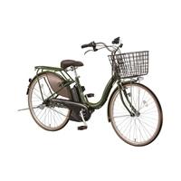 【自転車】【全国配送】アシスタファインA6FC18内装3段変速オートライト26インチオリーブ【別送品】