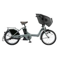 【自転車】《ブリヂストン》bikke POLAR e BR0C49 内装3段変速 20インチ M.ソフトカーキ【別送品】