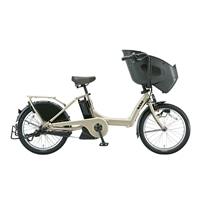 【自転車】《ブリヂストン》bikke POLAR e BR0C49 内装3段変速 20インチ T.レトログレージュ【別送品】