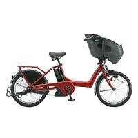 【自転車】《ブリヂストン》bikke POLAR e BR0C49 内装3段変速 20インチ T.レトロレッド【別送品】