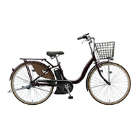 【自転車】《ブリヂストン》電動アシスト自転車 アシスタファイン A4FC19 24インチ 3段 F.Xカラメルフ?ラウン