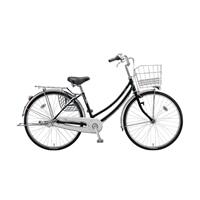 【自転車】《ブリヂストン》軽快車アスモ 内装3段 LEDオートライト 27インチ ブラック【別送品】