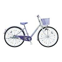 【自転車】《ブリヂストン》エコパル 22インチ ラベンダー