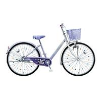 【自転車】《ブリヂストン》エコパル 24インチ ラベンダー