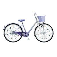 【自転車】《ブリヂストン》エコパル 26インチ ラベンダー