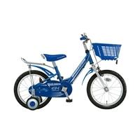【自転車】《ブリヂストン》ジュニアサイクル エコキッズ EKS16 ブルー