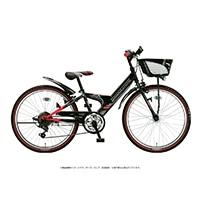 【自転車】《ブリヂストン》エクスプレスジュニア 外装6段 20インチ ブラック&レッド