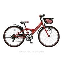 【自転車】《ブリヂストン》エクスプレスジュニア 外装6段 20インチ レッド