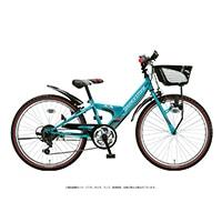 【自転車】《ブリヂストン》エクスプレスジュニア 外装6段 20インチ エメラルドグリーン