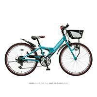 【自転車】《ブリヂストン》エクスプレスジュニア 外装6段 22インチ エメラルドグリーン