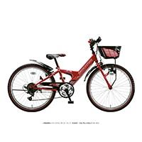 【自転車】《ブリヂストン》エクスプレスジュニア 外装6段 24インチ レッド