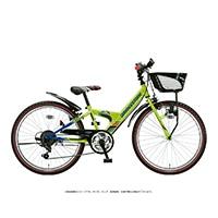 【自転車】《ブリヂストン》エクスプレスジュニア 外装6段 24インチ ネオンライム&ブルー