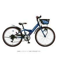 【自転車】《ブリヂストン》エクスプレスジュニア 外装6段 26インチ ブルー&ブラック