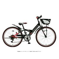 【自転車】《ブリヂストン》エクスプレスジュニア 外装6段 26インチ ブラック&レッド
