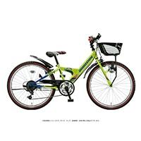 【自転車】《ブリヂストン》エクスプレスジュニア 外装6段 26インチ ネオンライム&ブルー