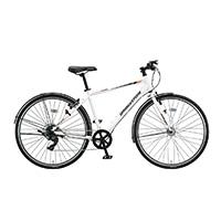 【自転車】《ブリヂストン》クロスバイク ティービーワン TB1 フレーム420mm TB420 7段 P.Xスノーホワイト