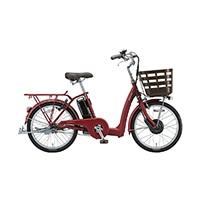 【自転車】《ブリヂストン》ラクあし電動アシスト自転車 フロンティアラクット 24インチ FK0B40 T.Xルビーレッド