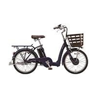 【自転車】《ブリヂストン》ラクあし電動アシスト自転車 フロンティアラクット 24インチ FK0B40 T.Xサファイヤブルー