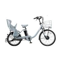 【自転車】《ブリヂストン》電動アシスト自転車 24ビッケMOBdd BM0B40 BKブルーグレー