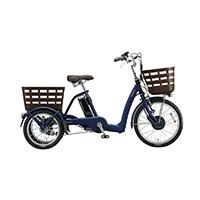 【自転車】《ブリヂストン》ラクあし電動アシスト自転車 FRONTIA フロンティアラクットワゴン FW0B40 T.Xサファイヤブルー