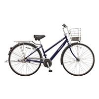 【自転車】《ブリヂストン》アルベルトSスクール 内装5段 オートライト27インチ M.ジュエルDブルー