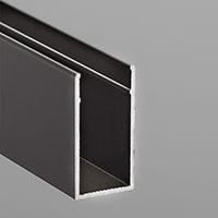 簡易内窓アルミ補強材ブロンズ 2100mm