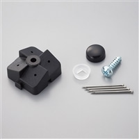 パンチングボード用壁面用石膏ボード止具 4個セット 耐荷重約20kg