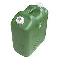 軽油缶スリム20L グリーン
