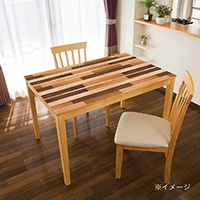 貼ってはがせるテーブルデコ 寄せ木 90×150cm