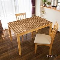 貼ってはがせるテーブルデコ モザイクウッド 90×150cm