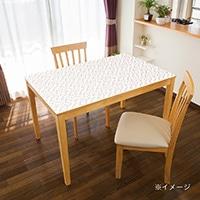 貼ってはがせるテーブルデコ モザイクタイル ピンク 90×150cm