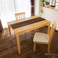 貼ってはがせるテーブルデコ エイジドウッド 30×150cm