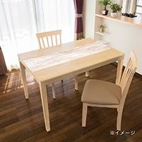 貼ってはがせるテーブルデコ ホワイトウッド 30×150cm