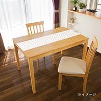 貼ってはがせるテーブルデコ モザイクタイル ピンク 30×150cm