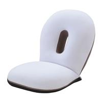 座ると眠るがシームレスにつながる座椅子 CLOUD SLP-スリーフ アイボリー