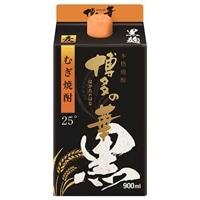 博多の華 麦 黒麹 25° パック 900ml【別送品】