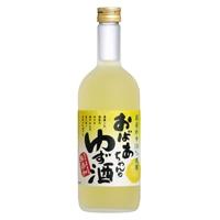 国盛 おばあちゃんのゆず酒 720ml【別送品】