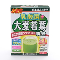 山本漢方 乳酸菌 大麦若葉粉末 4g×30包
