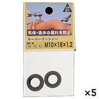 【ケース販売】キーパーワッシャー 10X18X1.2×5個[4979874091741×5]