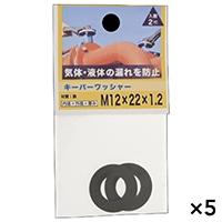 【ケース販売】キーパーワッシャー 12X22X1.2×5個[4979874091758×5]
