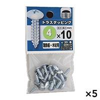 【ケース販売】トラスタッピング 4X10×5個[4979874453693×5]