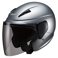 M-520セミジェットヘルメットシルバー