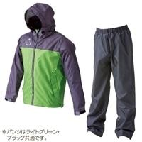 【数量限定】透湿レインスーツ リゲル ライトグリーン L