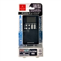小泉成器 AM/FMラジオ SAD7218K ブラック