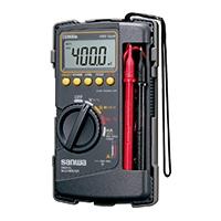 サンワ デジタルマルチメータ CD800a-P