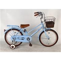 【自転車】【全国配送】《イーストボーイ》補助輪付き子供用自転車 キッズ 16インチ ブルー【別送品】